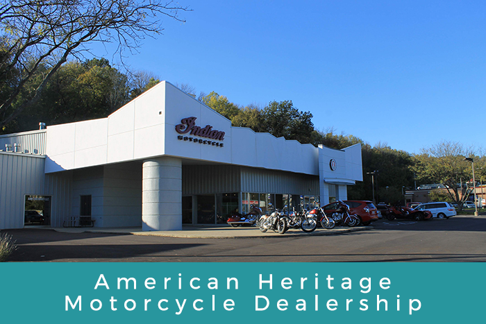 American Heritage Motorcycle Dealership